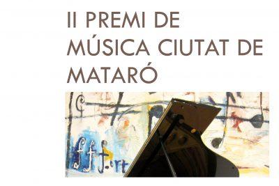II premi de Música ciutat de mataró