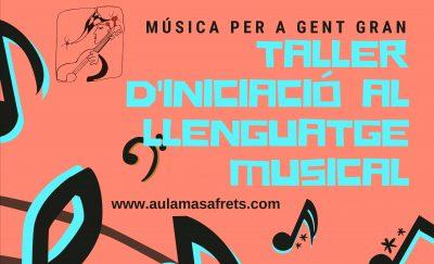 taller d'iniciació al llenfuatge musical
