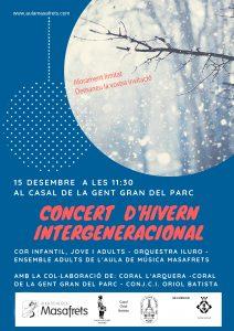 Concert hivern intergeneracional
